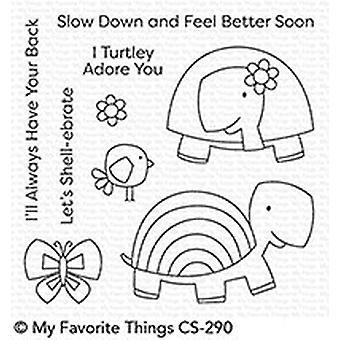 Minhas coisas favoritas tartarugas muito bonitos selos claros