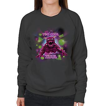 Ghostbusters too cool för Zuul kvinnor ' s Sweatshirt