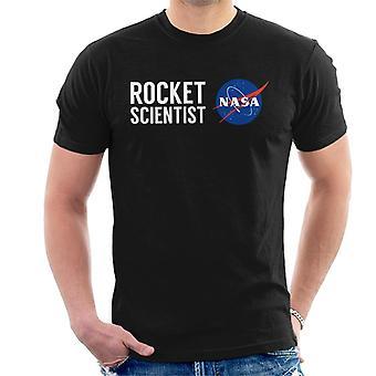 Camiseta la NASA cohete científico hombres