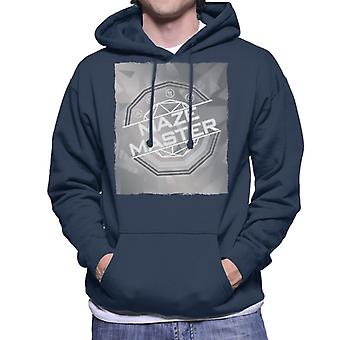 The Crystal Maze Silver Tone Men's Hooded Sweatshirt