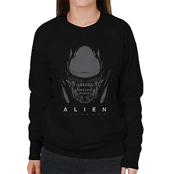 Alien Covenant Xenomorph Face Women's Sudadera