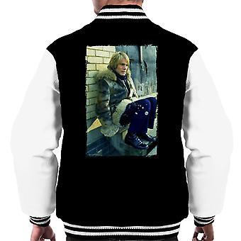 TV keer Adam Faith verschijnen In TV-serie Budgie mannen Varsity Jacket