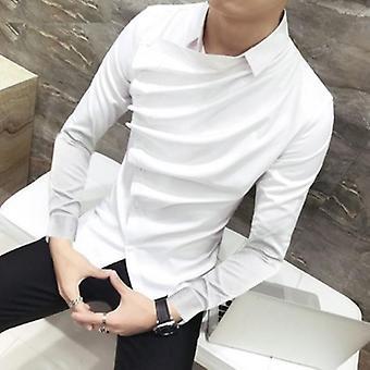 Mannen Persoonlijkheid Lange Mouw Shirts Stijlvol