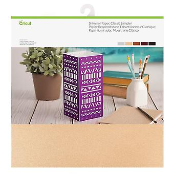 Cricut Shimmer Paper 12x12 Inch Classic Sampler