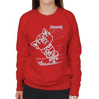 Aggretsuko Full Blown Rage Women's Sweatshirt