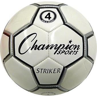 BA984P, Champion Sports Rubber Football - Taille 7 (Junior)