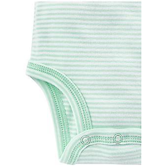 Einfache Freuden von Carter's Baby 6-Pack Neutral Short-Sleeve Body, grau/Yello...