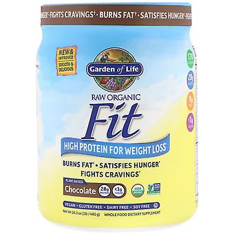 Garden of Life, RAW Organic Fit, High Protein for Weight Loss, Chocolate, 16.3 o