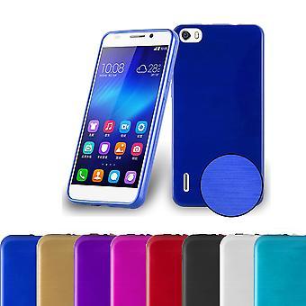 Cadorabo Case for Honor 6 Case Cover - Mobile Phone Case made of flexible TPU silicone - Silicone Case Protective Case Ultra Slim Soft Back Cover Case Bumper