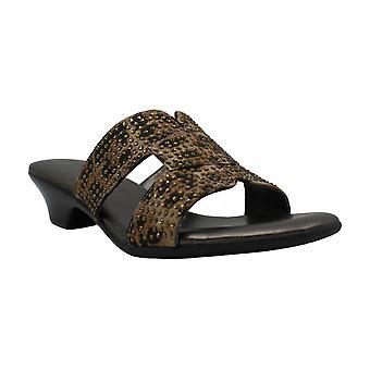 Karen Scott Womens Esmayy stof open teen casual platform sandalen