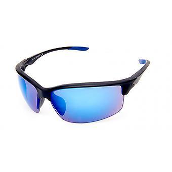 Sunglasses Men's Rectangular Violet/Black/Blue (20-249A)