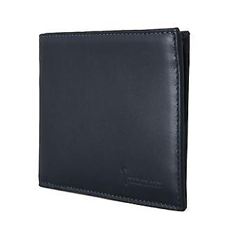 Blue Leather Bifold Wallet VAS1430