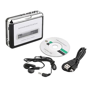 Tape To Pc Super Usb Kassette-zu-mp3 Konverter Capture Audio Music Player Neu