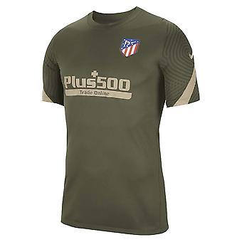 2020-2021 قميص تدريب أتلتيكو مدريد (Cargo Khaki)