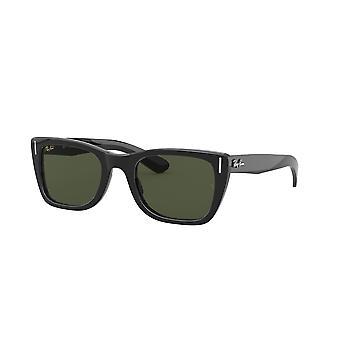 Ray-Ban Caribbean RB2248 901/31 Shiny Black/Green Glasses