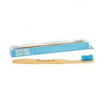 Humble Brush - Toothbrush - Adult Medium Blue Single