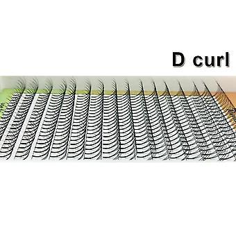 Extensões de cílios pré-feitas, lash faux mink - 16 linhas maquiagem de volume pré-feito