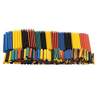164pcs/Set von Heat Shrink Isolation Sleeving Tube Kit