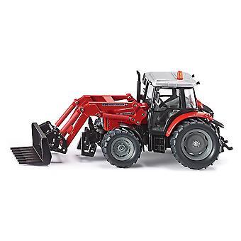 SIKU-tracteur Mf avec chargeur frontal échelle 01:32