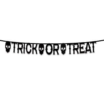 Forum uutuudet Halloween Naamiaispukutarvikkeet - Temppu tai hoito Banner Koristelu 7ft
