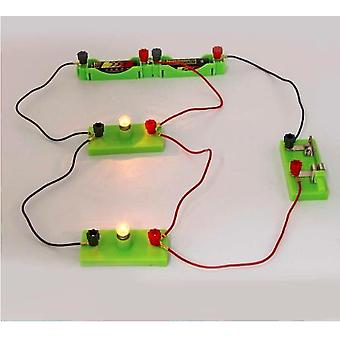 Kids Basic Circuit Electricity Learning Kit, Physics Educational Toys For Stem