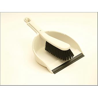 Addis Soft Dustpan Set Leinen 510389