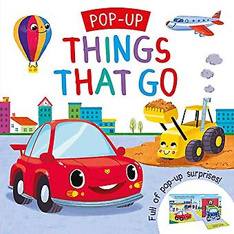 Pop-Up Things That Go [Board book]