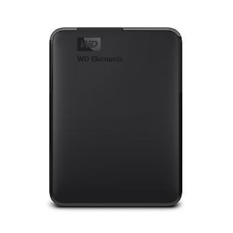 Wd 5 tb elements portable external hard drive - usb 3.0