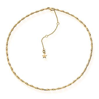 ChloBo GNRHYTHM Frauen's Gold Ton Rhythmus des Wassers Halskette