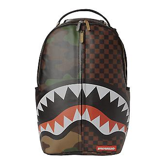 Sprayground Jungle Paris Split Backpack