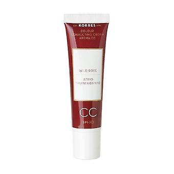 CC Cream SPF30, MEDIUM shade, Wild Rose 30 ml