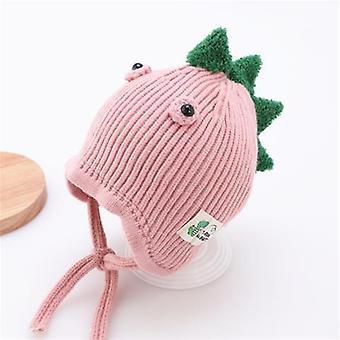 Children Dinosaur Hat Baby Ear Protector Wool Cute Autumn Winter