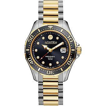 Roamer 220660 47 55 20 Rockshell Mark III Black Dial Wristwatch