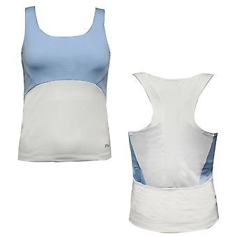 Fila Femenil Gym Vest Sports Bra Entrenamiento Tanque Top Racer Back U89414 124 EE205