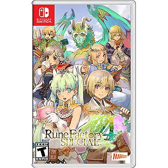 Rune Factory 4 Special Nintendo Switch Game (#)
