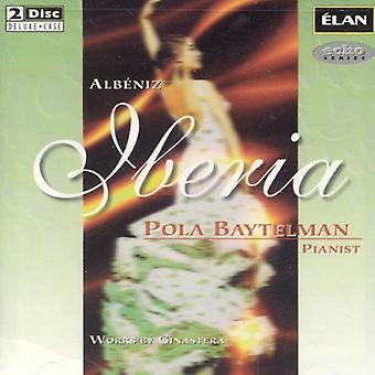 Albenz/Iberia/Ginastera - Alb Niz: Iberia [CD] USA import