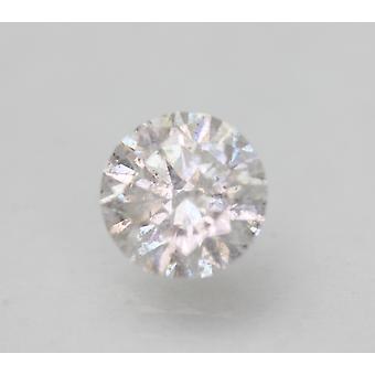 Gecertificeerd 1.08 Karaat E SI2 Ronde Brilliant Enhanced Natural Loose Diamond 6.42mm