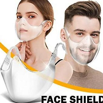 Pe Full Face Shield Large Mirror Guard Protector Visor Wrap Mask