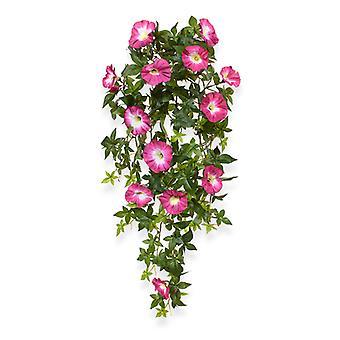 Kunstig Petunia træningsplan 70 cm kirsebær