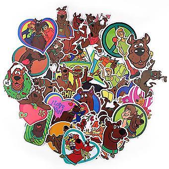Schattige Cartoon Scrapbooking Stickers Sticker Voor Gitaar Laptop Bagage Auto Koelkast