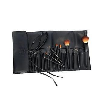 Royal & Langnickel Silk Pro Pocket Brush Wrap 20 Piece Black