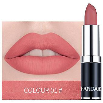Sexy Matte Lipstick, Makeup Nude, Long Lasting Pigment Waterproof Nutritious