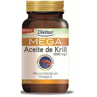 Dietisa Omega Mega Krill 1000mg