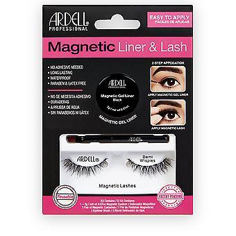 Ardell Magnetic Liner & lash Demi wispies Delineador + 2 Pestañas