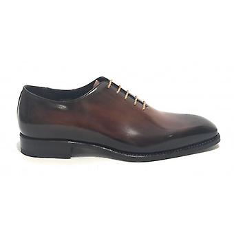 Men's Shoes Harris French Handmade Leather Vegas Brandy U17ha109
