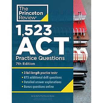1523 ACT Practice Questions by Princeton Review