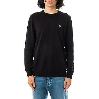 Calvin Klein monogramme poitrine logo pull homme cn pull j30j317118.beh