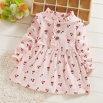 Girls Dress, Spring Autumn Toddler Fashion Cotton Party Dress