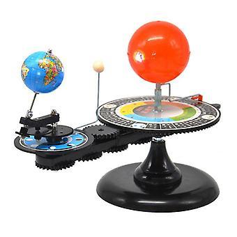 Солнечная система, Солнце, Земля, Луна, Орбитальный планетарий Модель, Образование Обучение