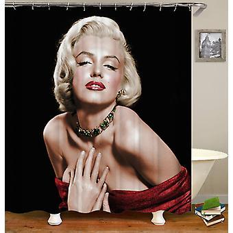 Aistillinen Marilyn Monroe suihku verho